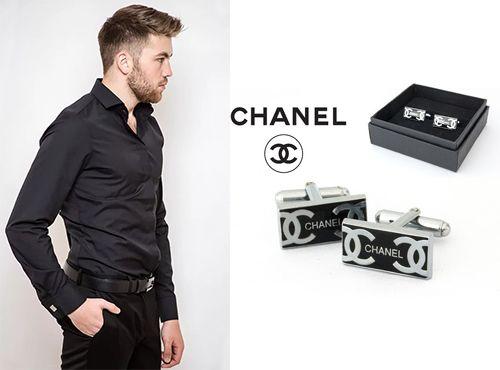 Запонки Chanel