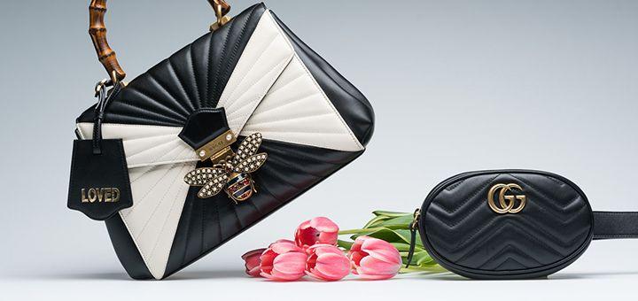 Женские брендовые сумки в подарок на день влюбленных