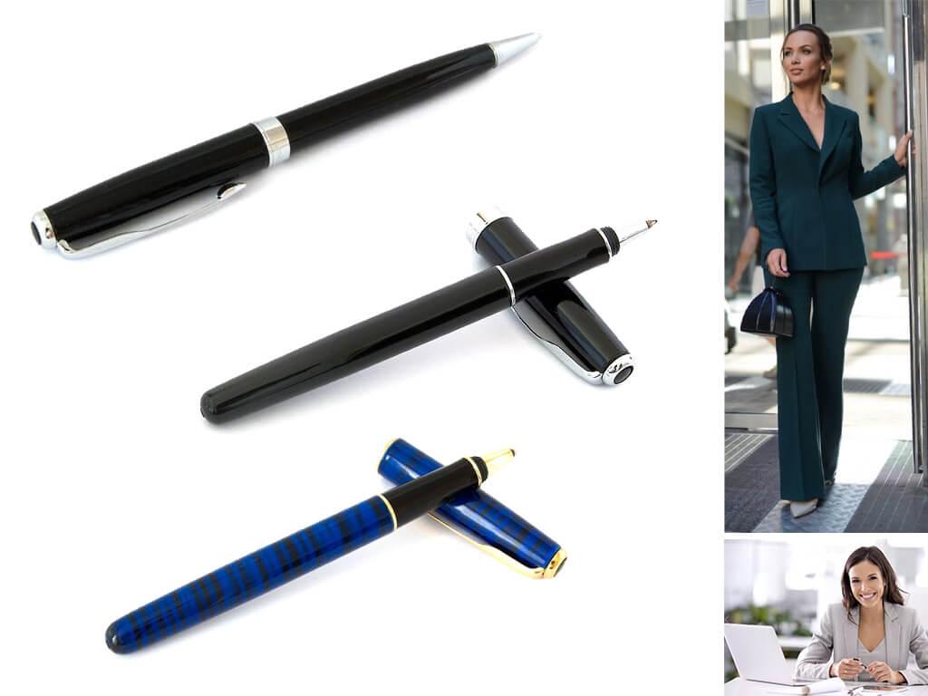 Черные ручки Parker