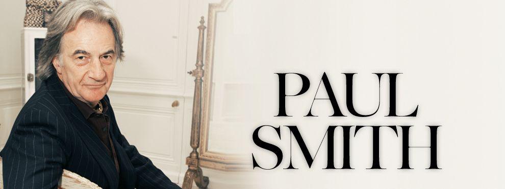 Модельер Пол Смит (Paul Smith)