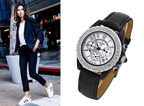 Часы от Chanel с индикацией день ночь