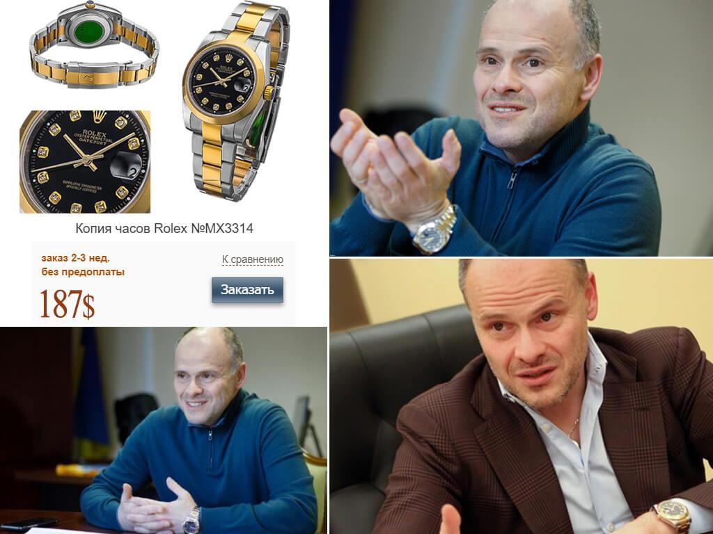 Еще один экземпляр Rolex из коллекции Михаила Радуцкого