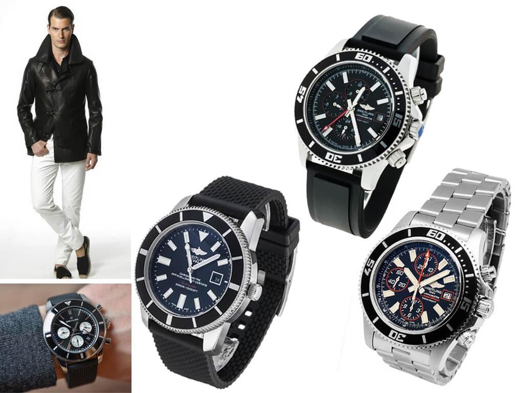 Мужские часы Breitling Superocean