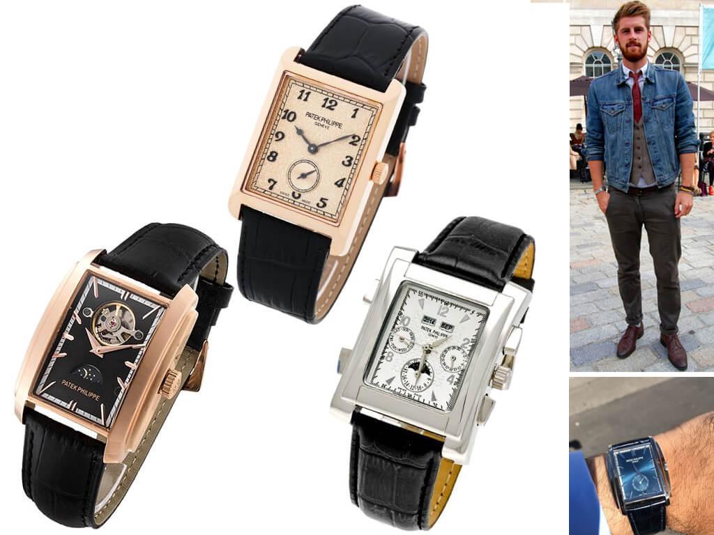Мужские часы Patek Philippe Gondolo