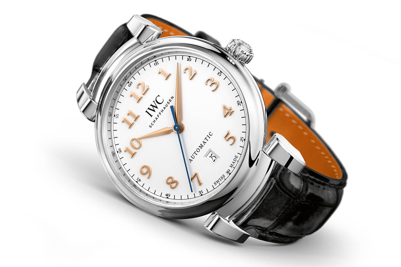 Мужские классические часы IWC Da Vinci Automatic 40mm