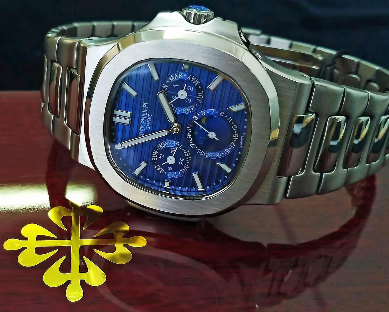 Точная реплика мужских часов Patek Philippe Nautilus Ref. 5740/1G-001