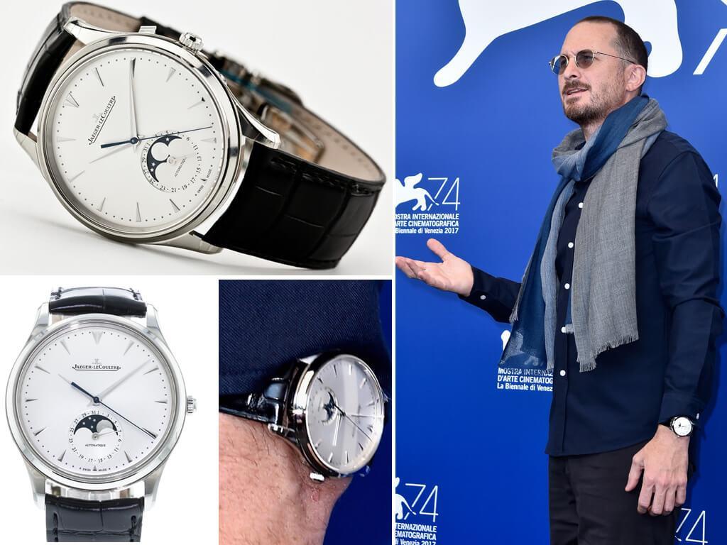 Даррен Аронофски и его часы Master Ultra Thin Moon от Jaeger-LeCoultre