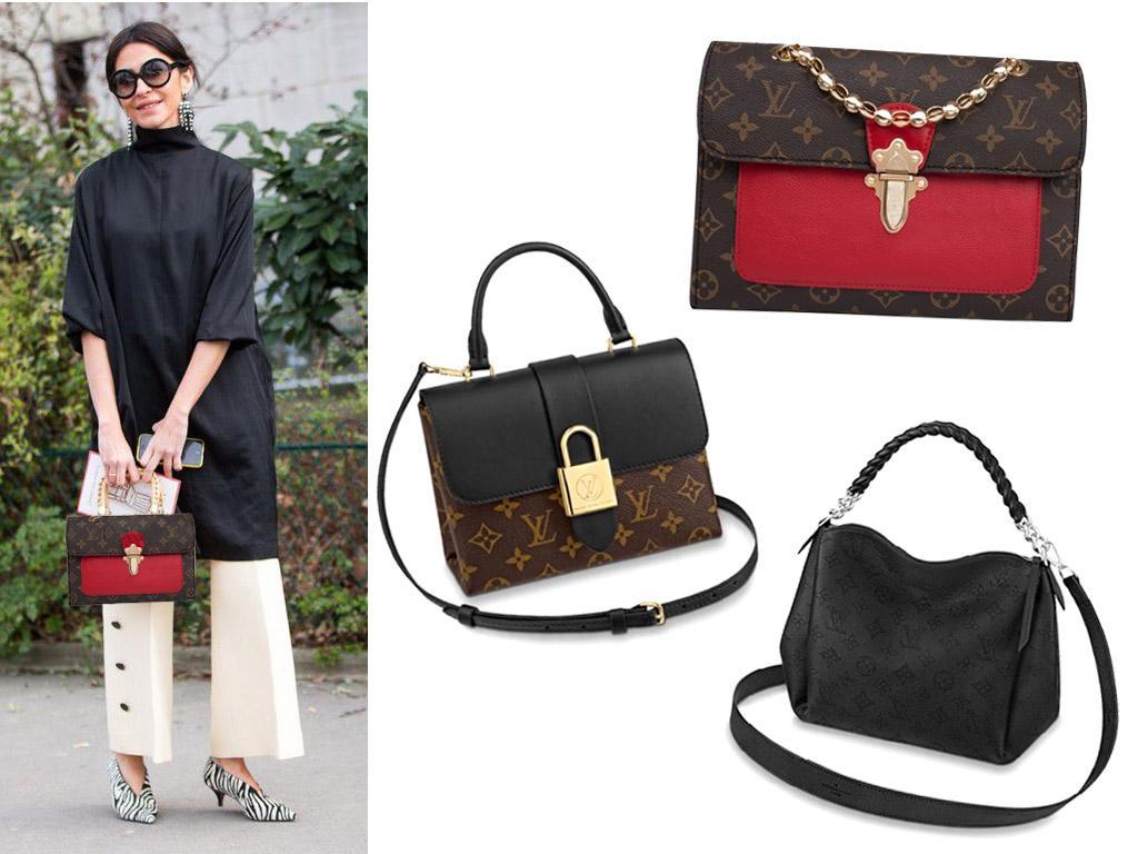 Женские кожаные сумки Louis Vuitton