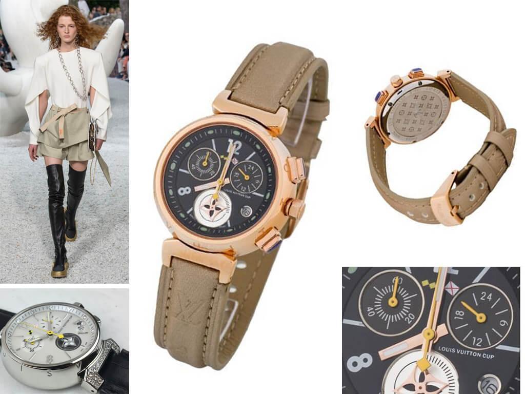 Наручные часы Louis Vuitton Tambour Lovely Cup