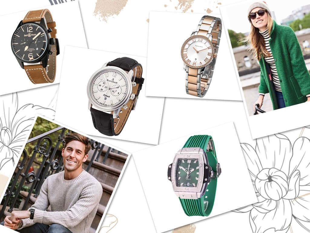 Стильные мужские и женские часы по выгодной цене