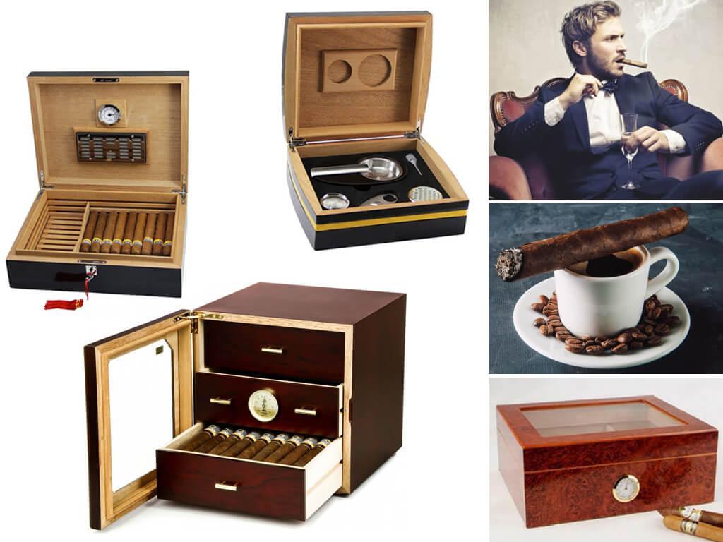 Стационарные хьюмидоры для сигар