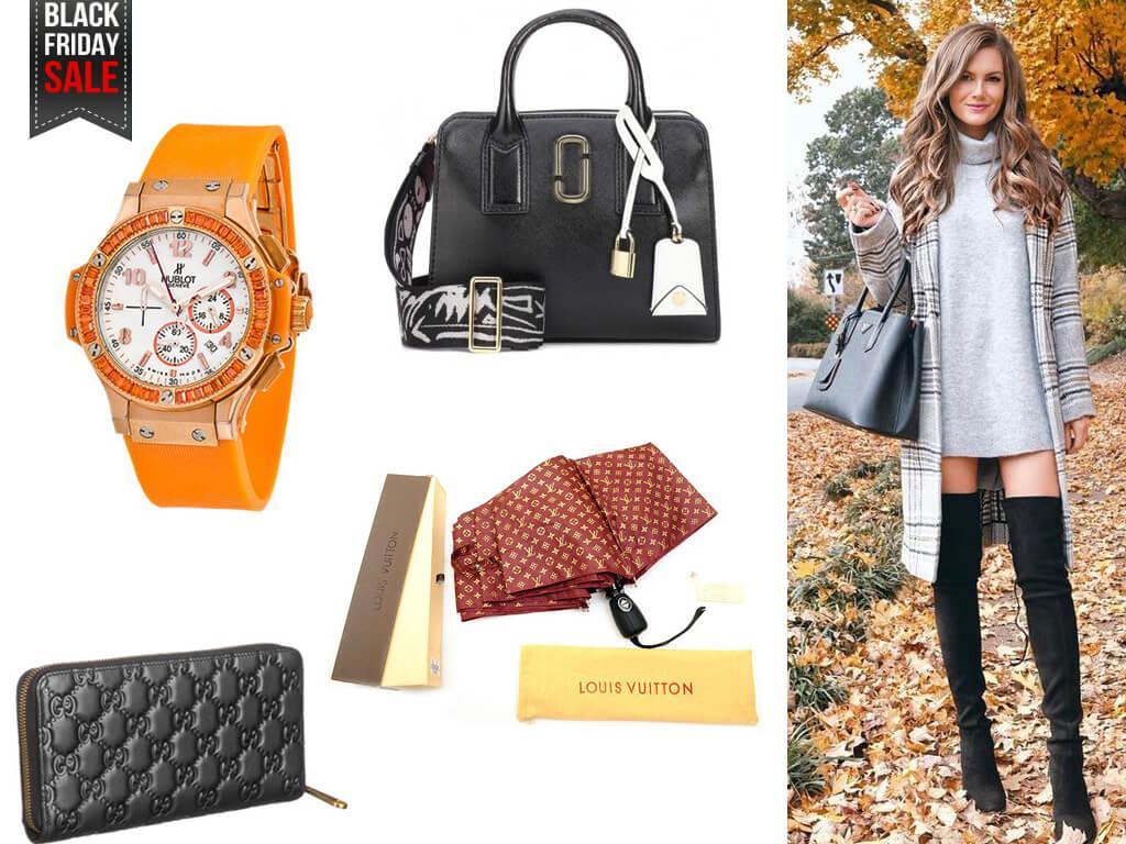 Черная пятница в магазине Имидж - повод порадовать себя и купить модную сумочку или часы по выгодной цене