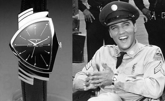 Часы Элвиса Пресли Hamilton Ventura