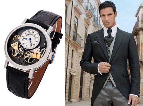 Мужская копия часов Bregeut Tradition