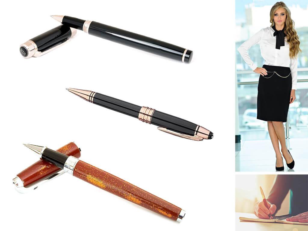 Глянцевые золотистые ручки мужские и женские