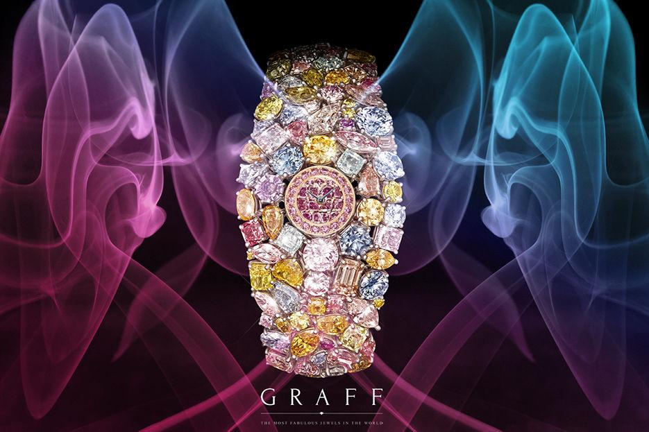 Женские часы Graff Jewellery Watches Hallucination