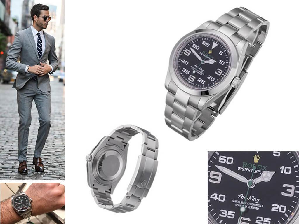Наручные мужские часы Rolex Air King