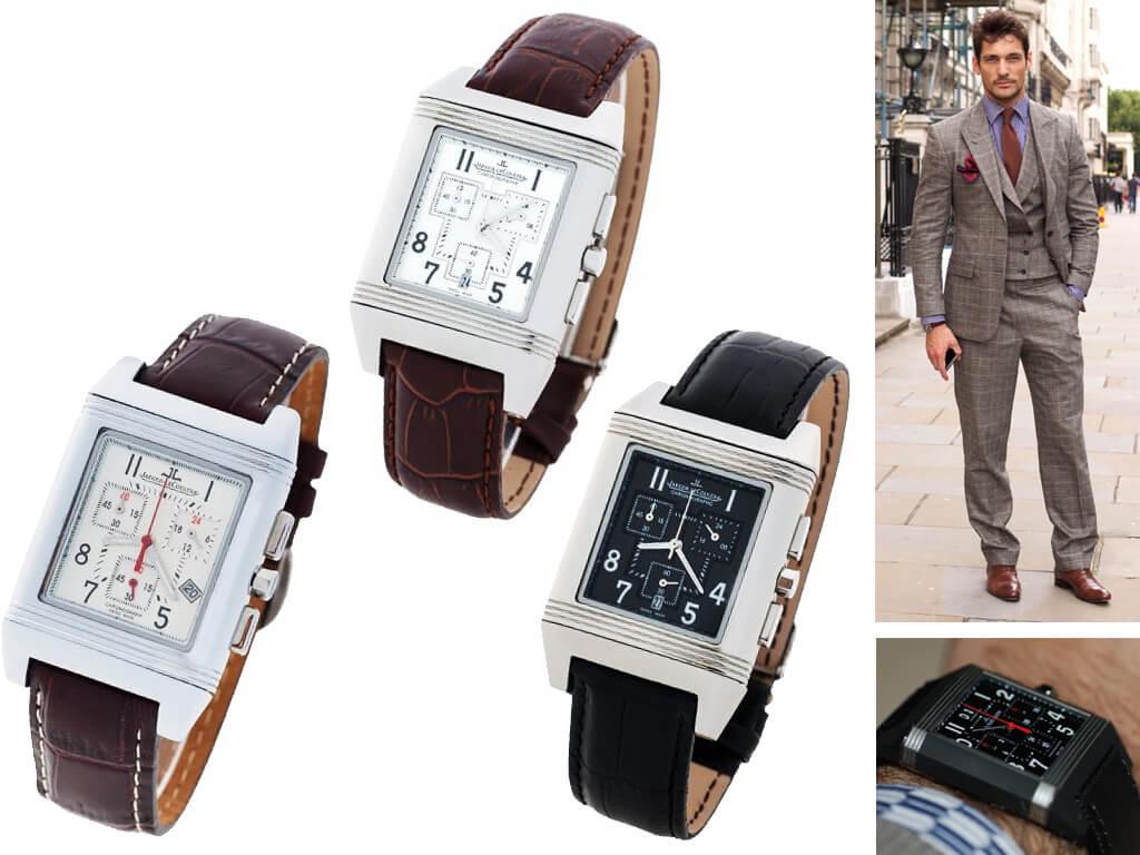 Часы наручные из коллекции Reverso Squadra бренда Jaeger-LeCoultre