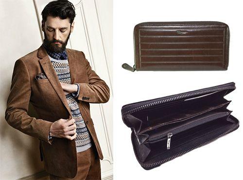 Кожаный бумажник от Salvatore Ferragamo
