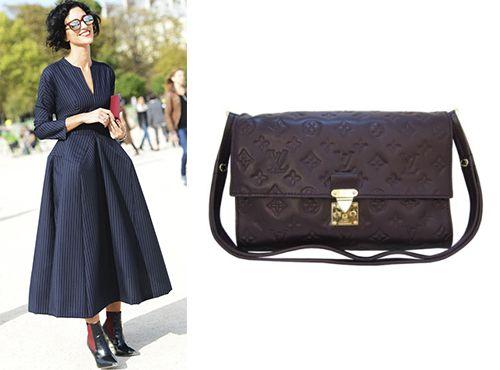 Клатч-сумка из кожи от Louis Vuitton