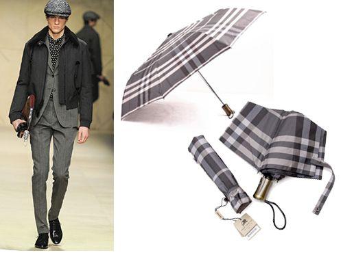Зонт Барбери мужской
