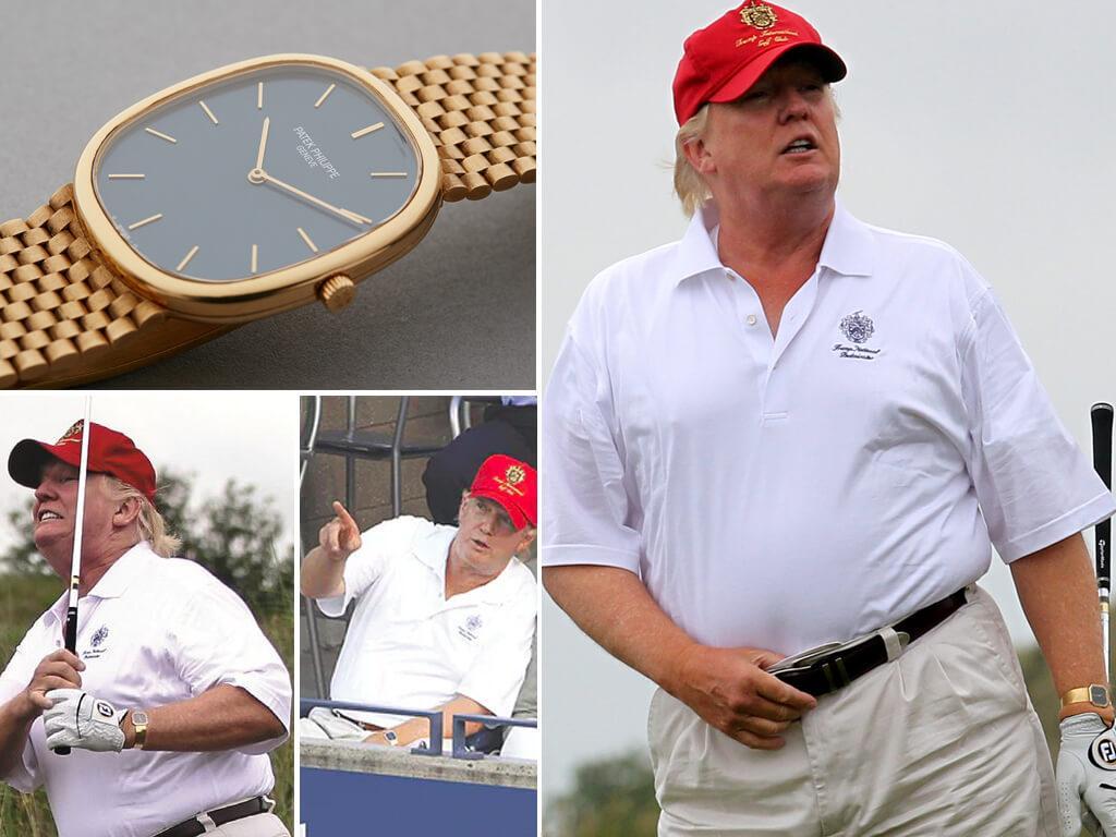 Часы Дональда Трампа Patek Philippe Ellipse