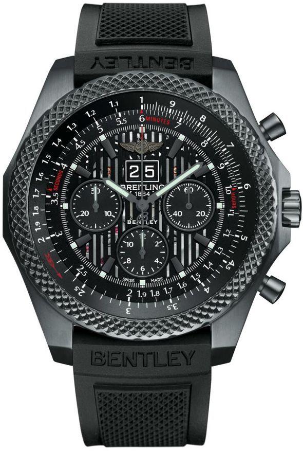 «Бэтмен против Супермена: На заре справедливости»: часы Джереми Айронса Breitling for Bentley 6.75 Midnight Carbon Limited Edition