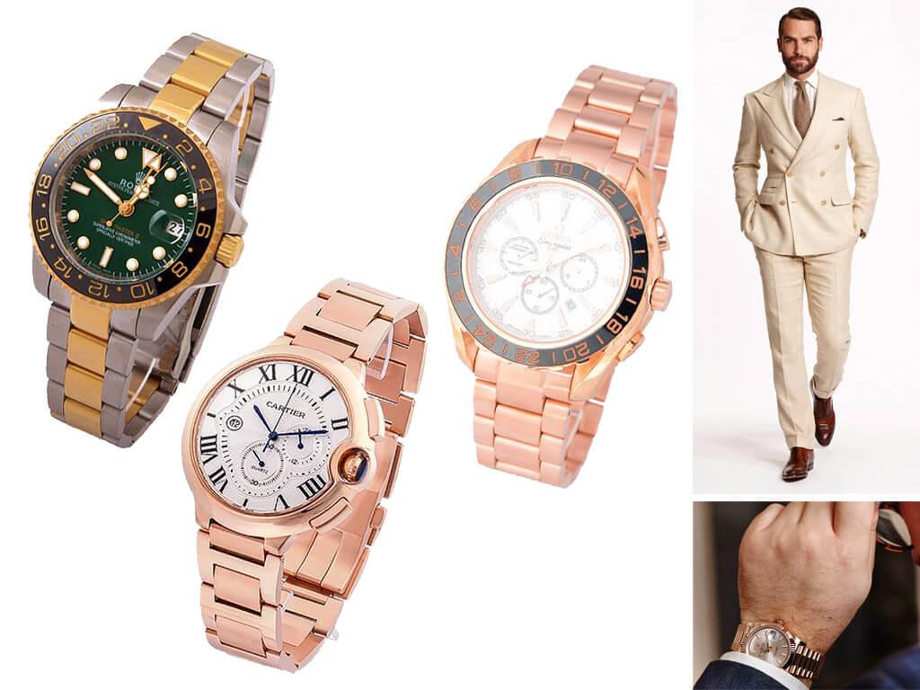 Часы на браслете для мужчин