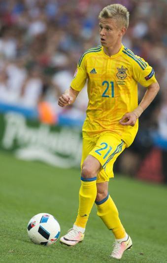 Александр Зинченко - игрок сборной Украины по футболу