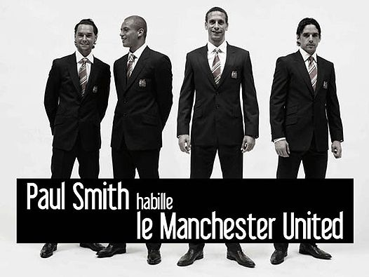 """Манчестер Юнайтед"" в костюмах Paul Smith. """