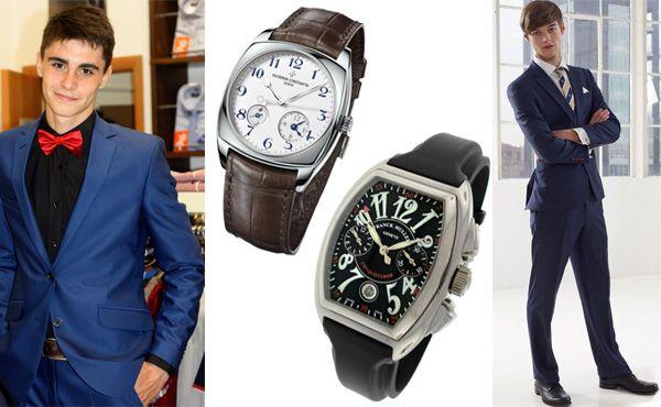 Мужские брендовые часы Vacheron Constantin и Franck Muller