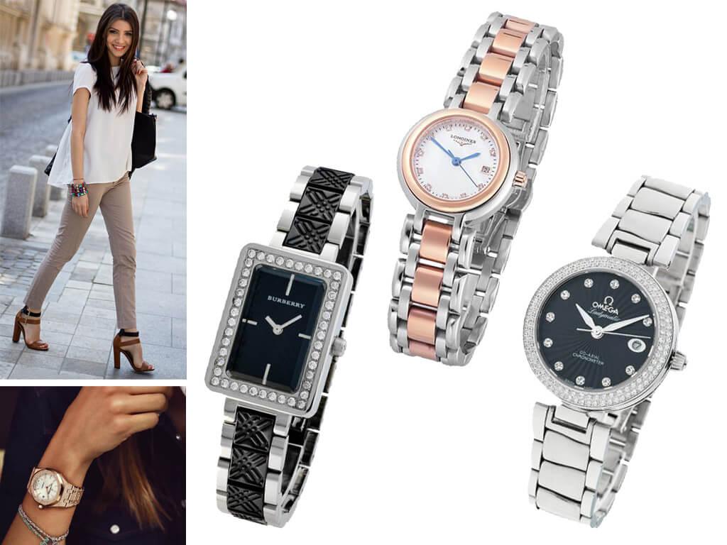 Женские часы на браслете