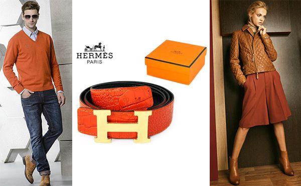 Брючный пояс унисекс Hermes