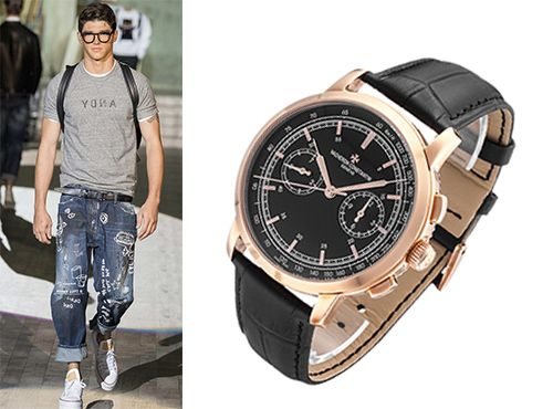 Классические мужские часы от Vacheron Constantin