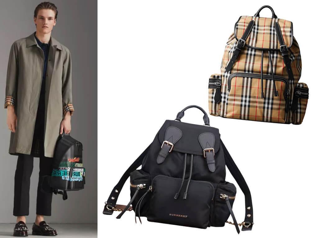 Брендовые рюкзаки из текстиля пользуются популярностью не один год