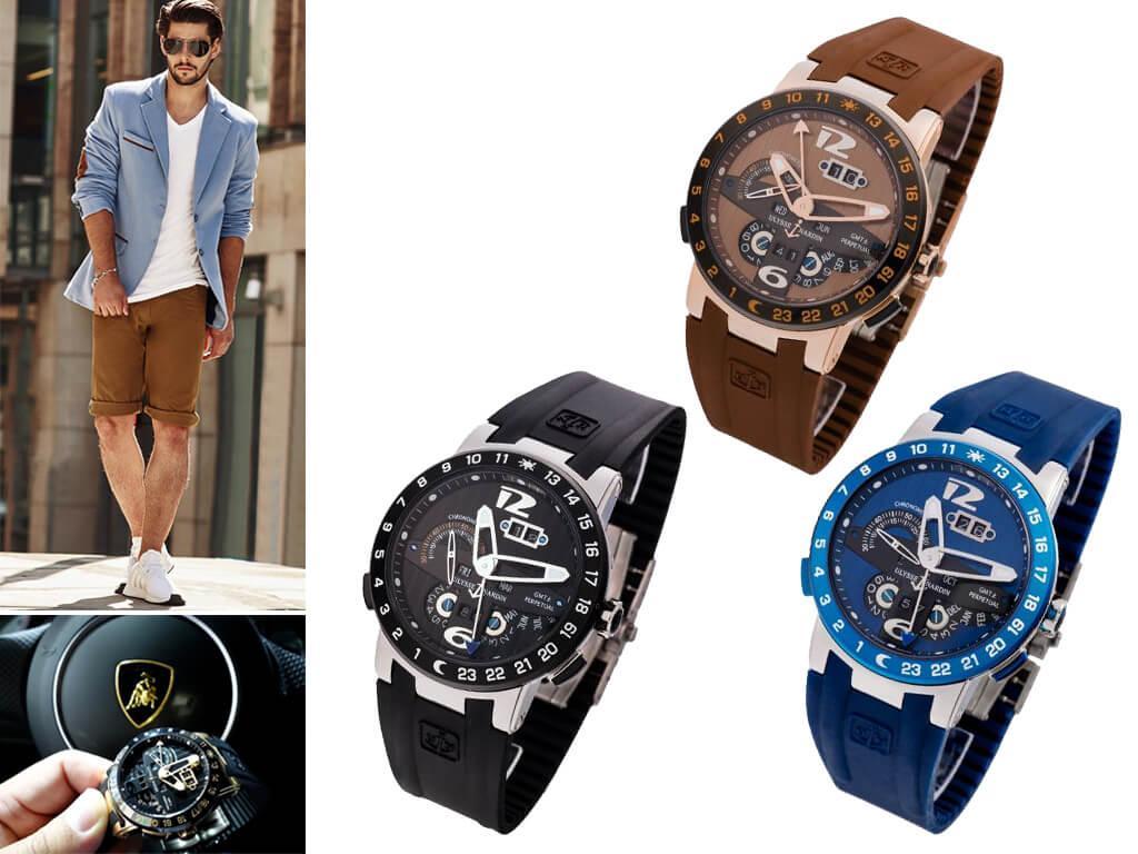Мужские часы Ulysse Nardin El Toro GMT Perpetual из коллекции Executive