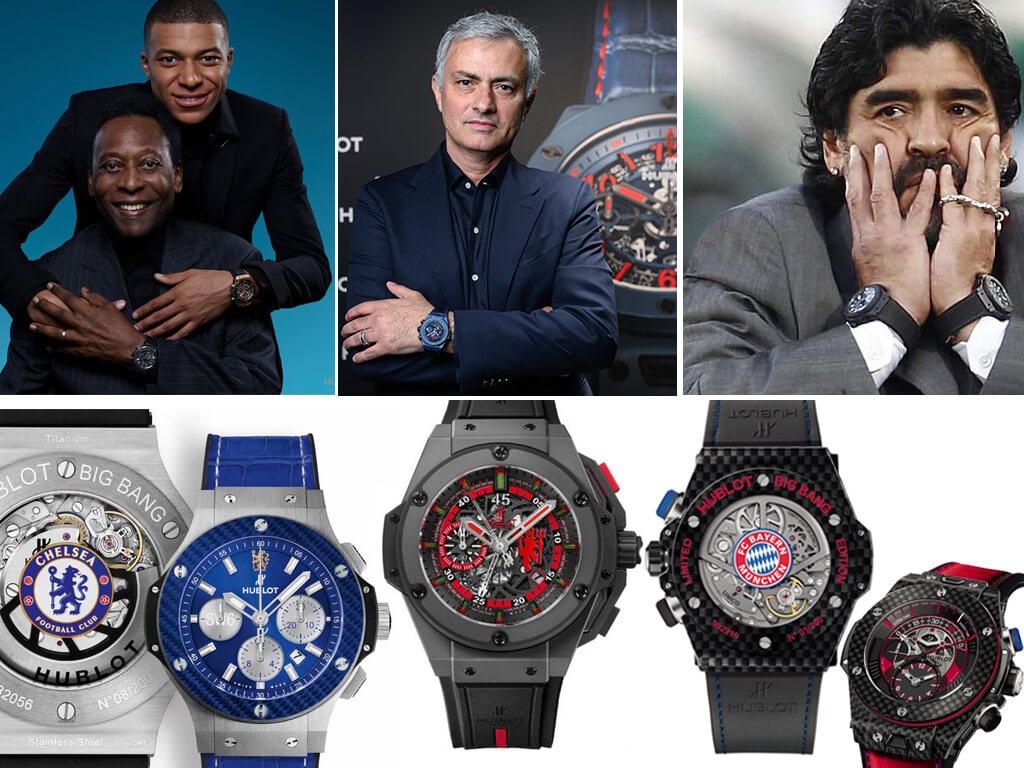 Хублот - часы футболистов и футбольных клубов