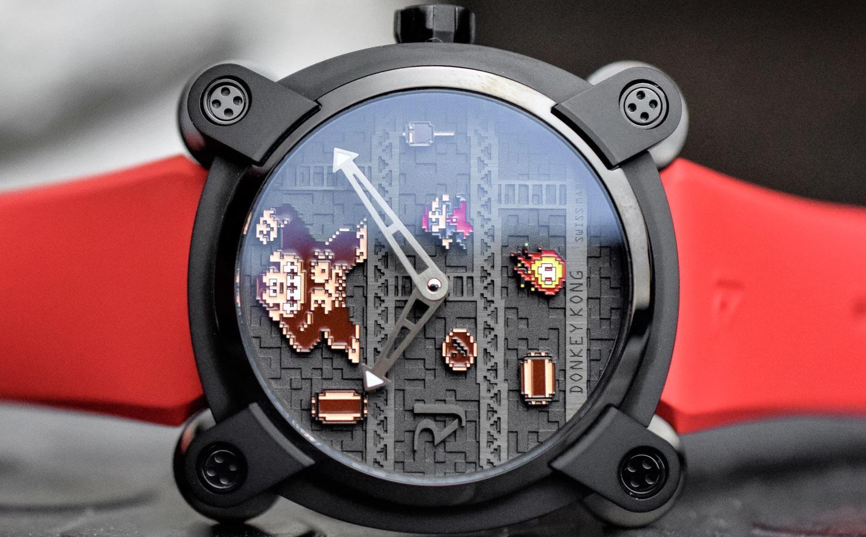 Часы Ромен Джером RJ X Donkey Kong2