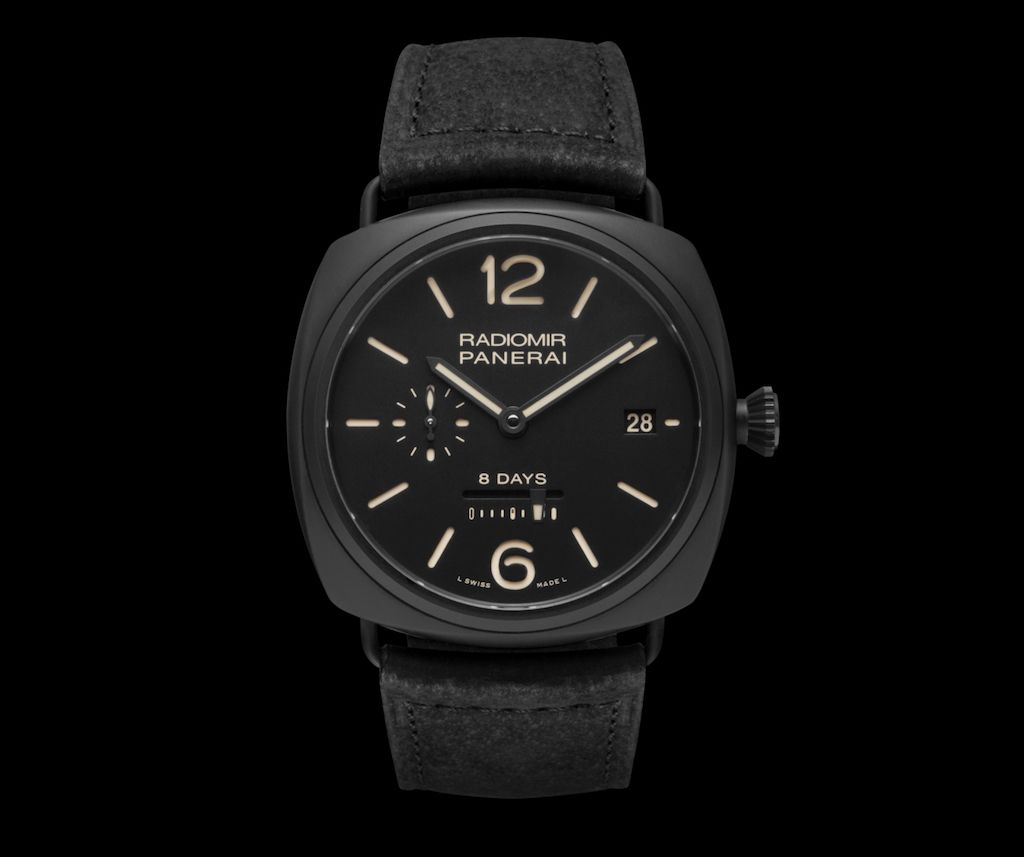 Наручные часы Panerai PAM 384, Radiomir 8 Days Ceramic