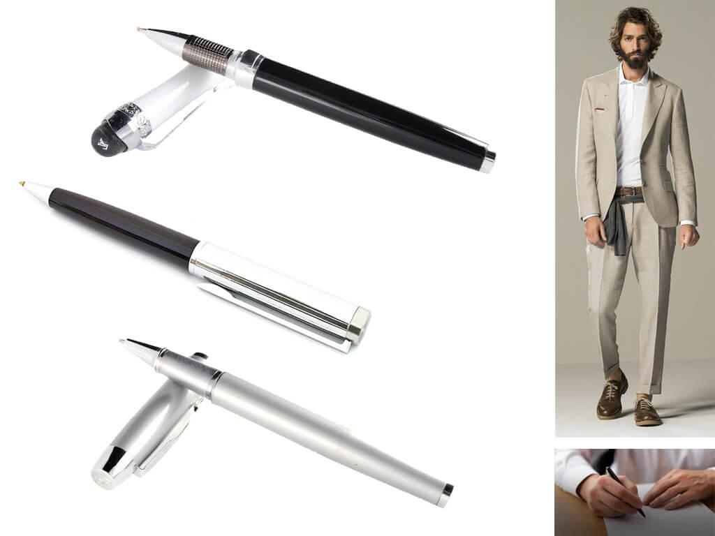 Брендовые ручки в подарочной коробке