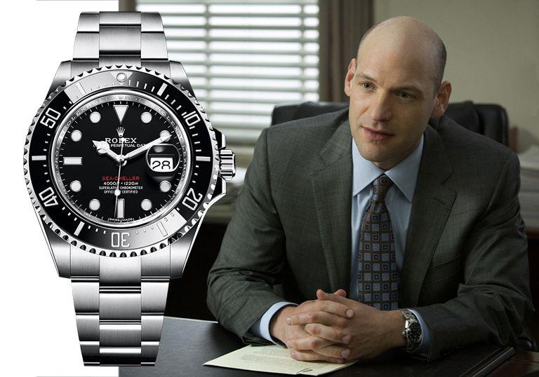 Карточный домик: часы Кори Столла Rolex Sea Dweller