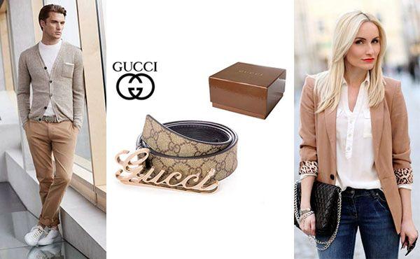 Кожаный ремень от Gucci