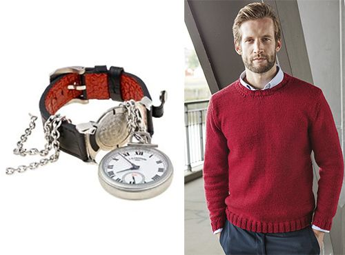 Мужские карманные часы Шопард
