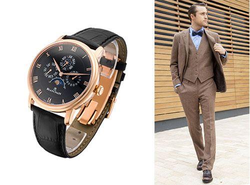 Наручные часы Бланпа для мужчины