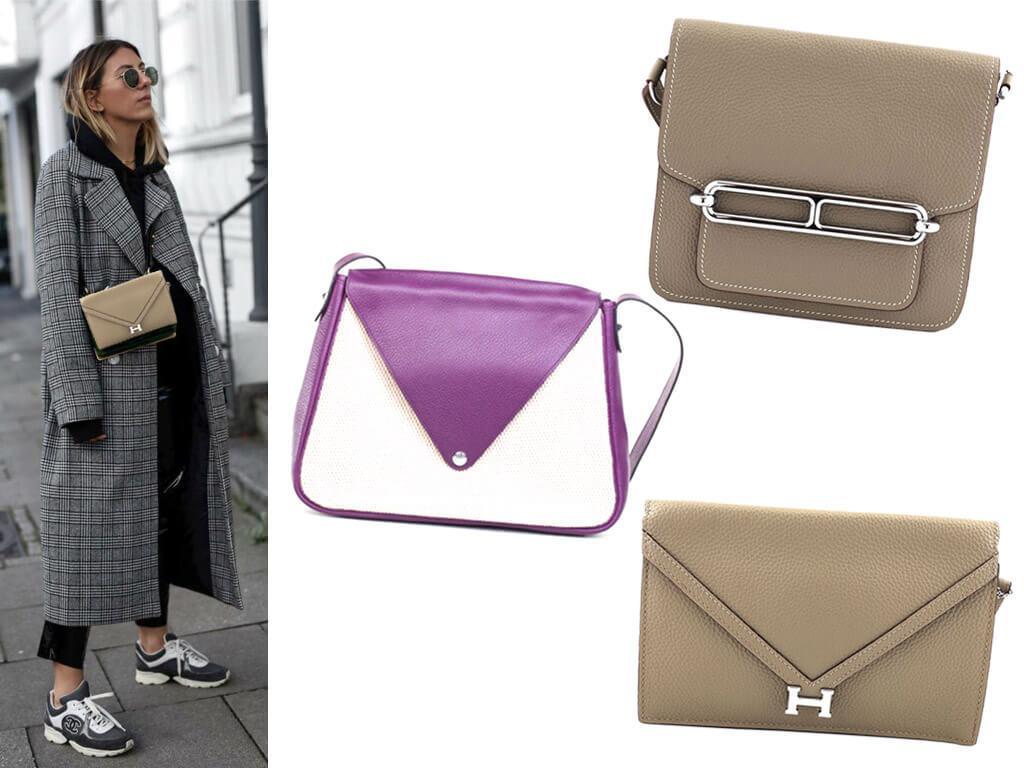 Женские кожаные сумки Гермес