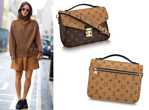 Клатч кожаный от Louis Vuitton