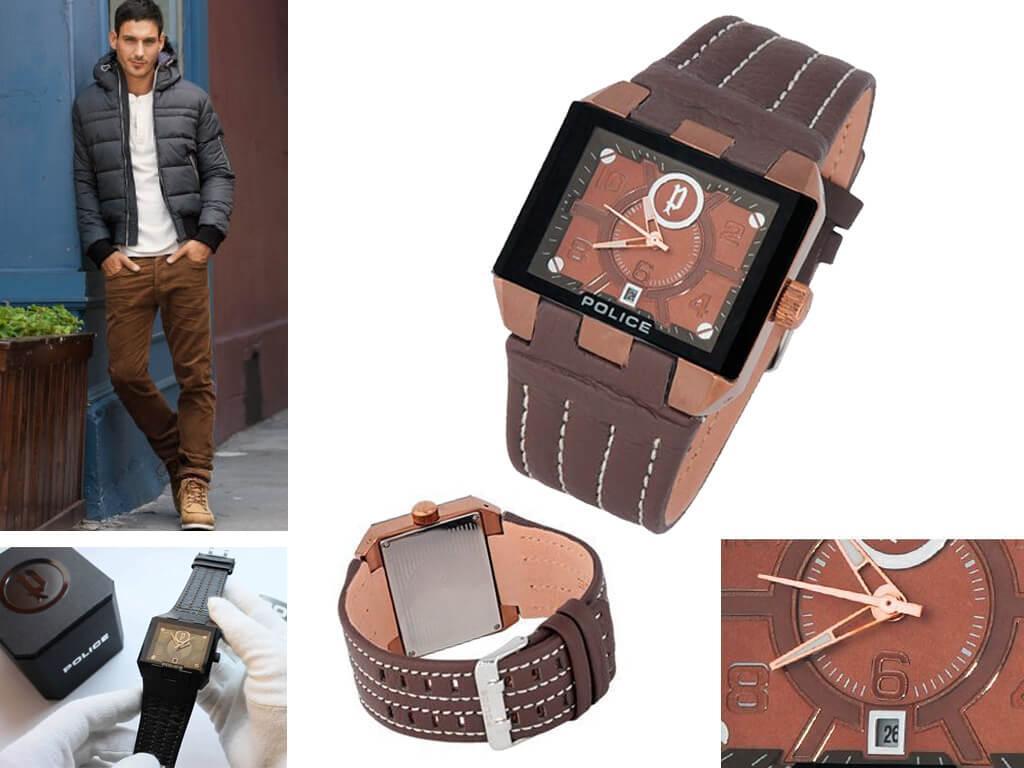 Мужские часы Police из коллекции 12551J
