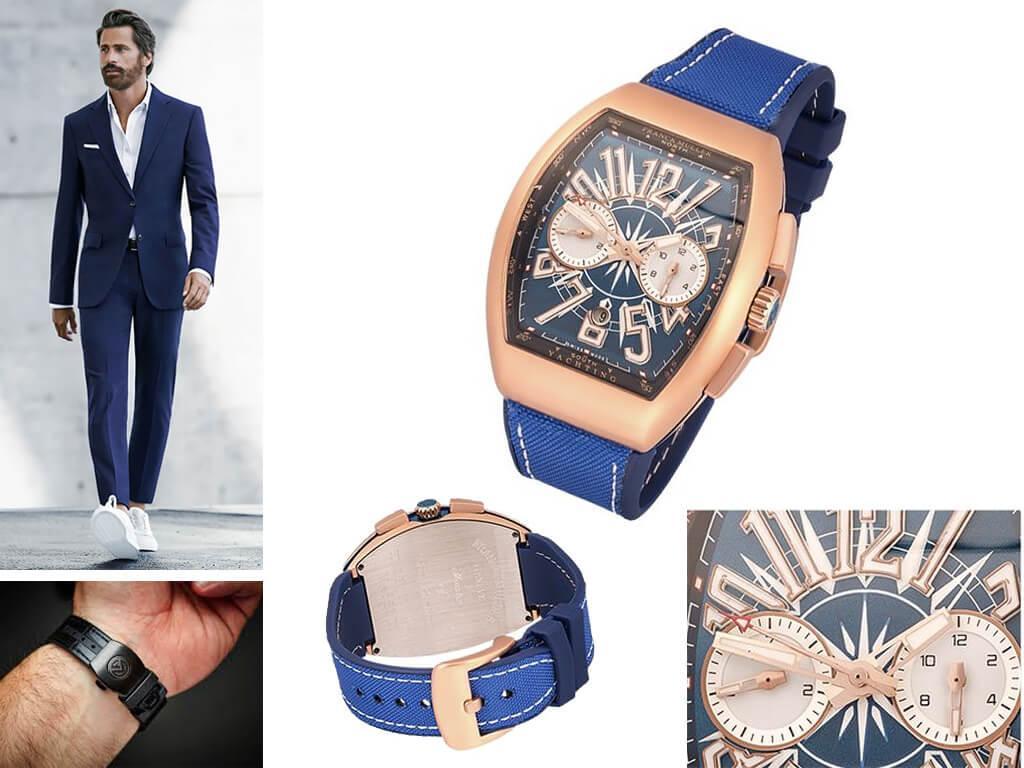 Мужские часы Franck Muller из коллекции Vanguard