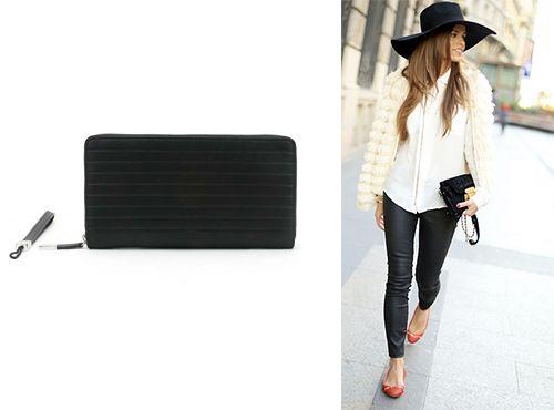 Женский кожаный кошелек Christian Dior