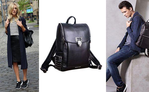 Рюкзак из кожи Philipp Plein акция